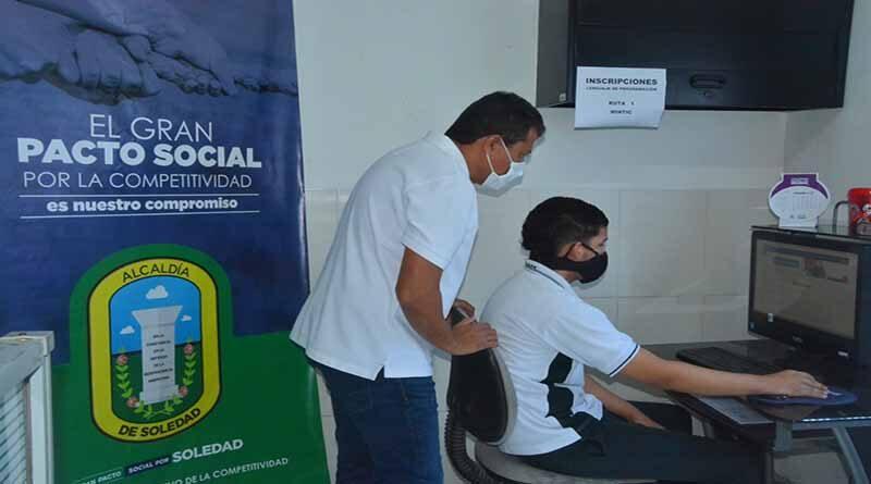 213 jóvenes se inscribieron en el curso de lenguaje de programación Misión Tic 2022 en Soledad