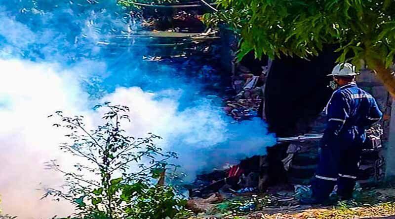 Alcaldía de Soledad realiza jornadas de fumigación para prevenir el dengue