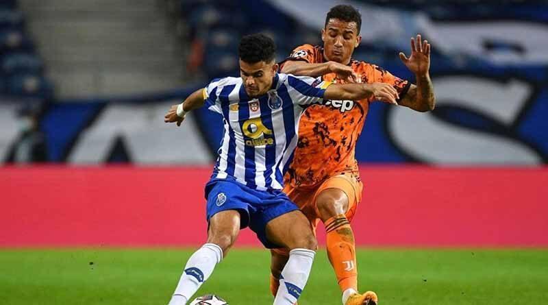 Con Luis Díaz y Matheus Uribe en la cancha, Porto sorprendió a la Juventus 2-1