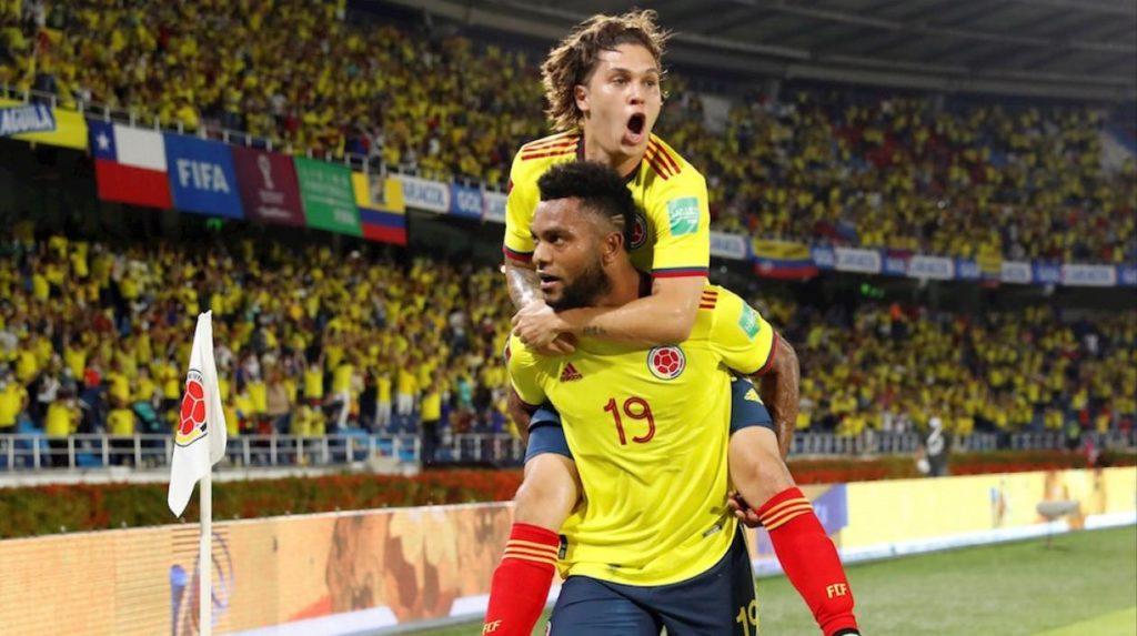 Con sabor costeño, Colombia derrotó 3-1 a Chile en el Metropolitano
