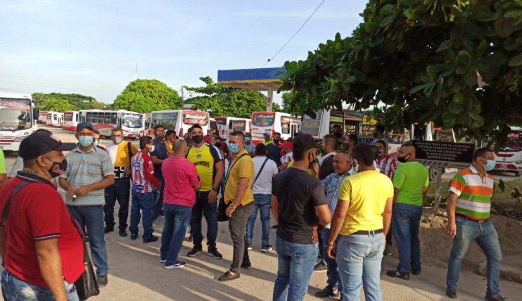 Conductores en Barranquilla convocan protesta para este lunes