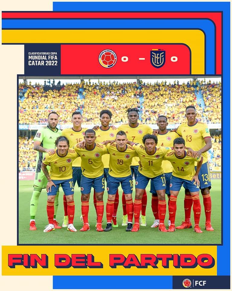 Estadio Metropolitano en Barranquilla. Colombia 0 Vs Ecuador 0