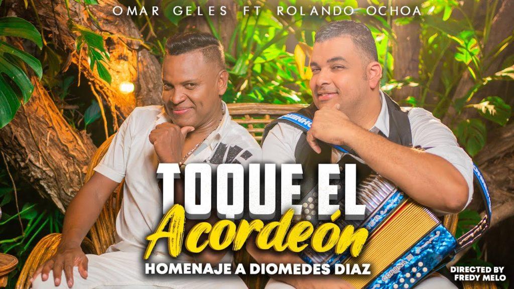 Omar Geles y Rolando Ochoa lanzan este jueves 7 de octubre la canción 'Toque el acordeón'