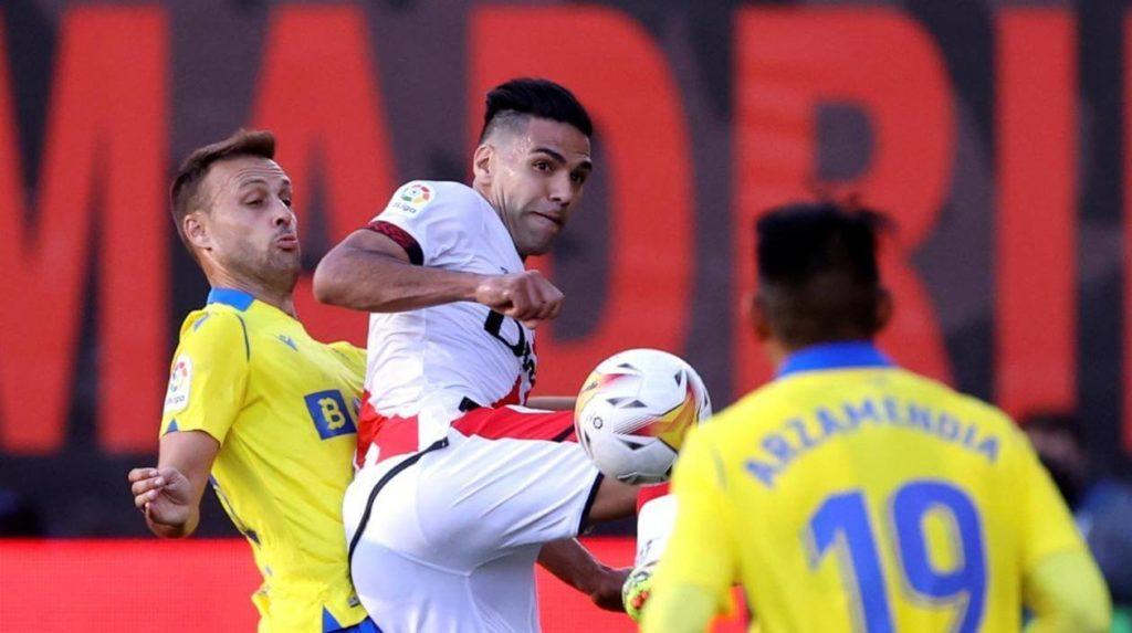 Falcao García pone en la mira al Osasuna, próximo rival del Rayo Vallecano